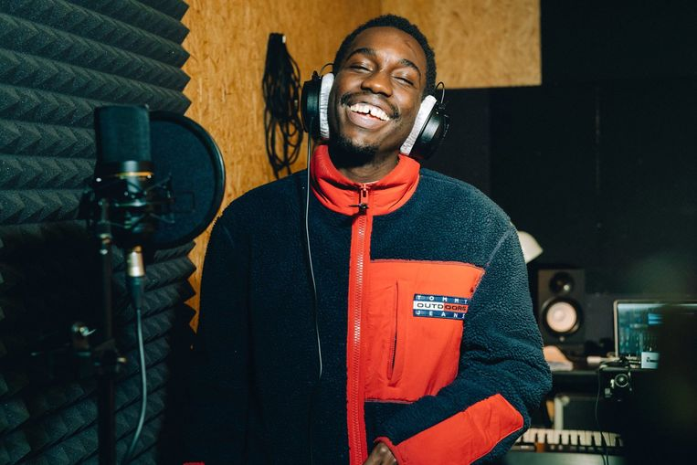 David Ngyah mag in Malmédy de studio in om opnames te maken