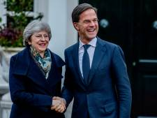 Rutte wenst May 'alle succes' met brexitstemming