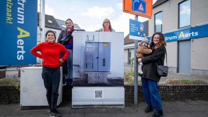 Kunstenaars en inwoners toveren nutskasten in Bonheiden om tot 'kunstboxen'