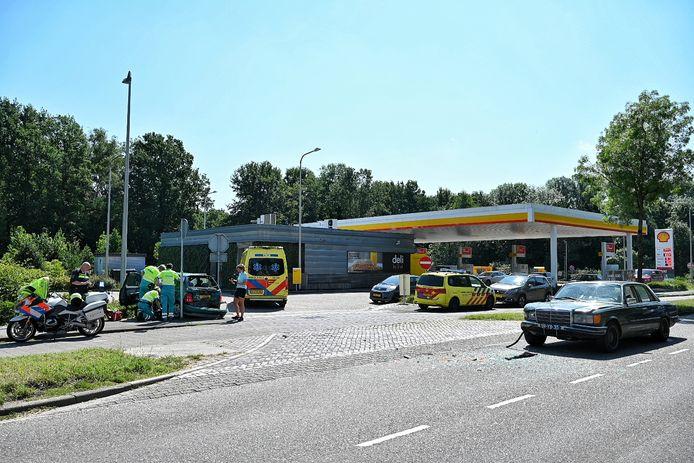 Ongeluk op Moergestelseweg Oisterwijk.