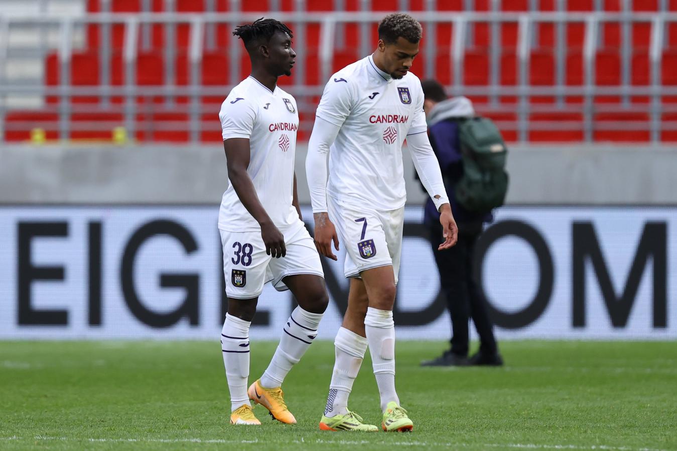 Quatre partages, deux défaites: un bilan insuffisant pour Anderlecht en playoffs.