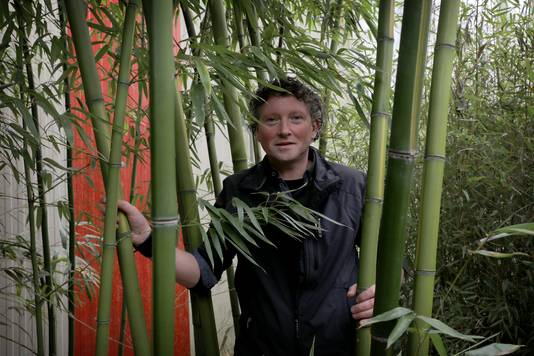 Bennie Nuilen van Bamboo Giant in Asten (archieffoto).