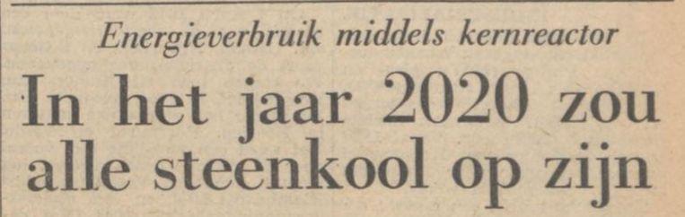 (De Volkskrant, 1954) Beeld