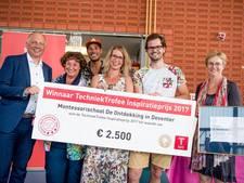 Landelijke prijs voor idee techniekhuisje van Montessorischool Deventer