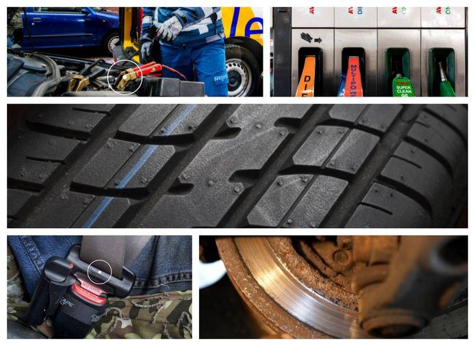Ook auto's kunnen last krijgen van coronakwaaltjes door langdurige stilstand: een lege accu, brandstofverontreiniging, vierkante banden, schimmel op de gordel of vastzittende remmen.