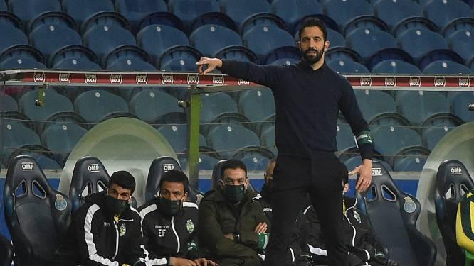 Ophef in Portugal: Sporting op weg naar titel, maar voor trainer dreigt jarenlange schorsing