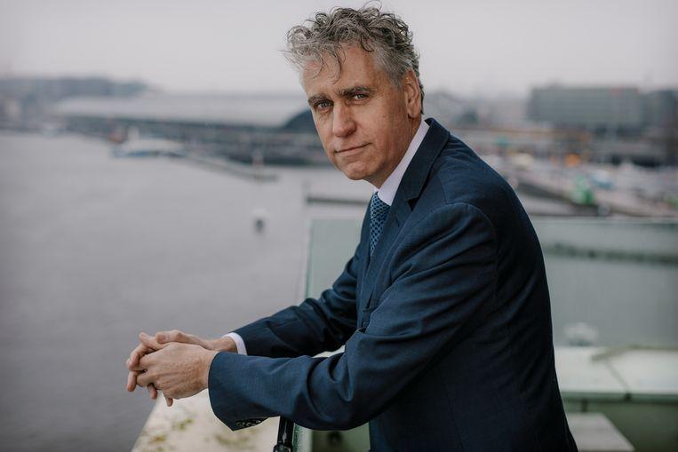 Hoofdofficier René de Beukelaer: 'In coronatijd zie je hoe geweldig deze stad is, al is de ziel er nu uit.' Beeld Marc Driessen