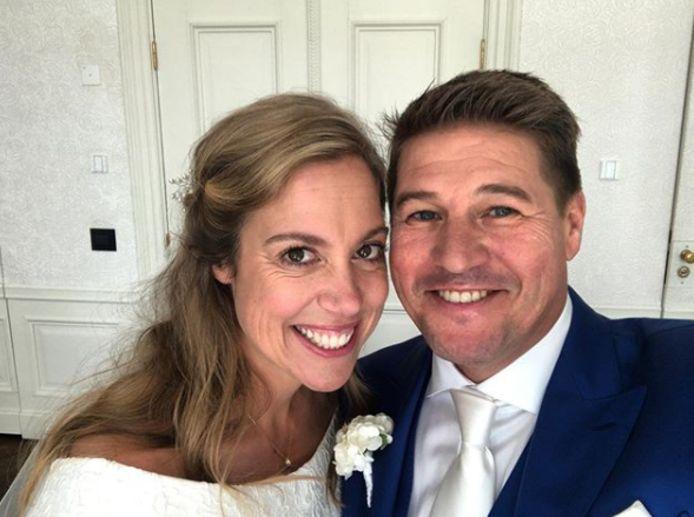 Martijn Krabbé en zijn vrouw Deborah.