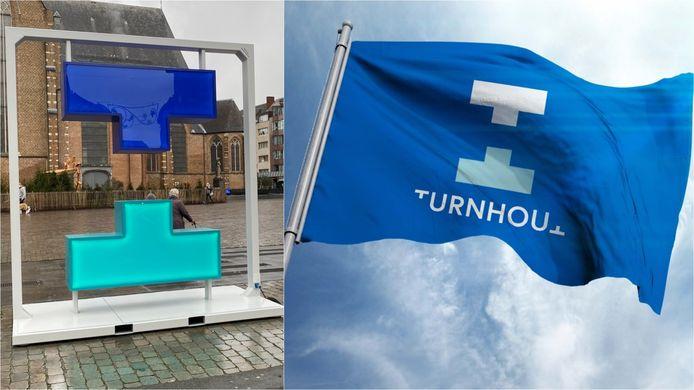 Het nieuwe logo van stad Turnhout krijgt bakken kritiek