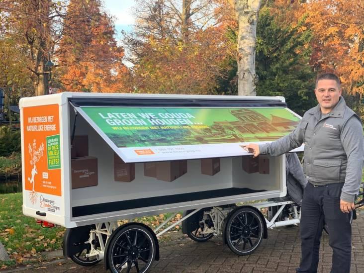 Dit is de Goudse oplossing tegen de stikstofuitstoot: de vrachtfiets