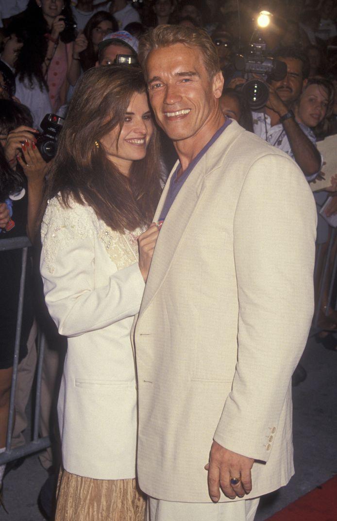 Arnold Schwarzenegger en zijn ex Maria Shriver