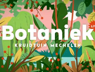 Volledig programma van Botaniek Live bekend
