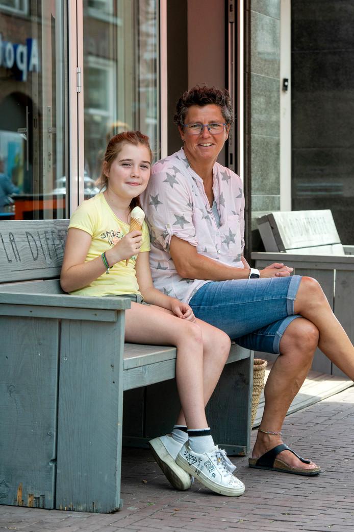 Bo Serverein met dochter Sam.