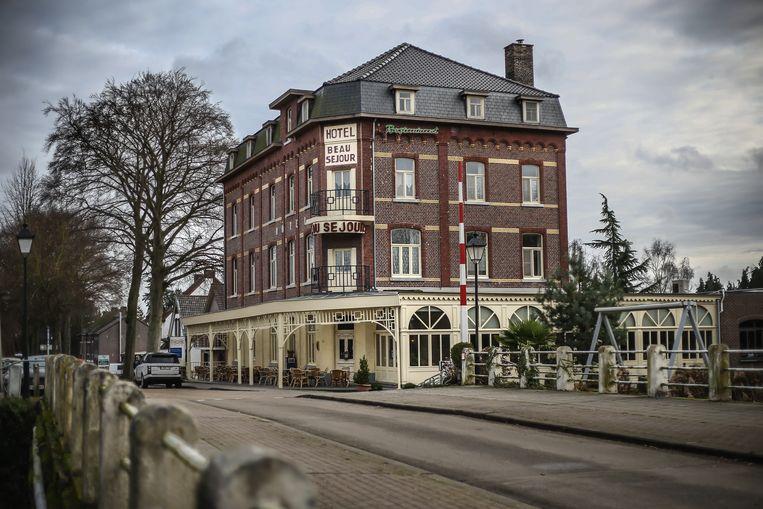 Hotel Beau Séjour uit 1906 heeft twintig kamers.