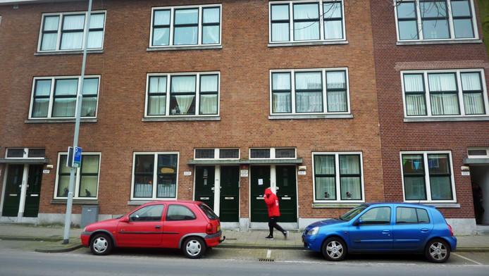 De Wolphaertsbocht in Rotterdam waar de dode baby werd gevonden.