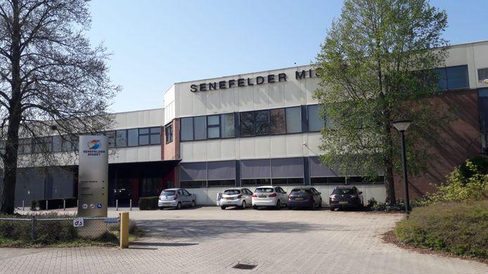 Het gebouw van Senefelder Misset aan de Mercuriusstraat in Doetinchem.