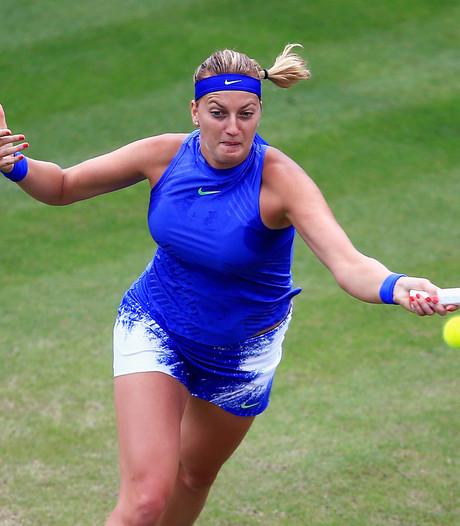 Kvitova raakt in vorm in aanloop naar Wimbledon