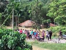 Fleur (21) zat weekend lang op heuvel na overstroming Sri Lanka