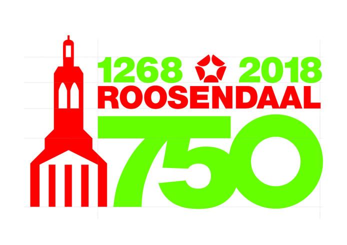 logo Roosendaal 750 jaar