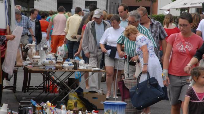 Rommelmarkt Aarthurfeesten opnieuw afgelast