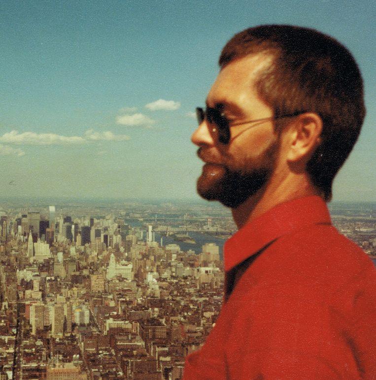 Jan van Wieringen in New York, augustus 1982 Beeld Privécollectie
