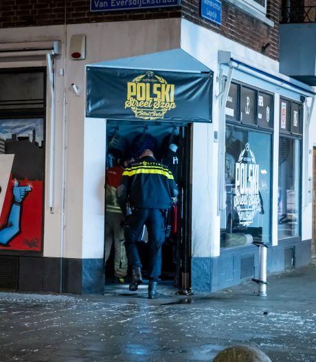 Brandstichting bij Poolse kledingwinkel: 'Ooggetuigen zagen jongens met jerrycan'