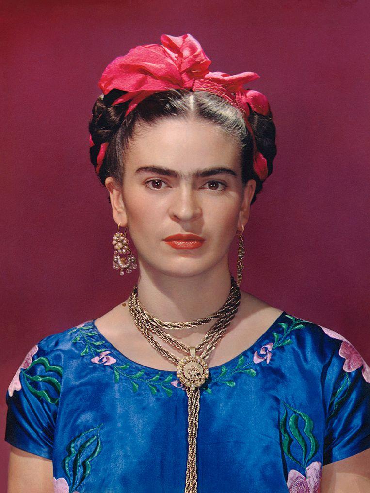Kahlo gefotografeerd door een van haar vele minnaars, Nickolas Muray. Beeld Nickolas Muray Photo Archives