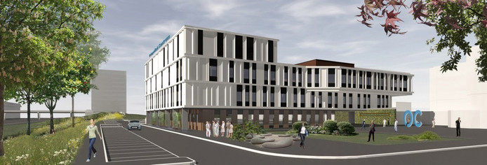 Zo gaat het nieuwe Orthopedisch Centrum van de Reinier Haga Groep in Zoetermeer er uit zien.