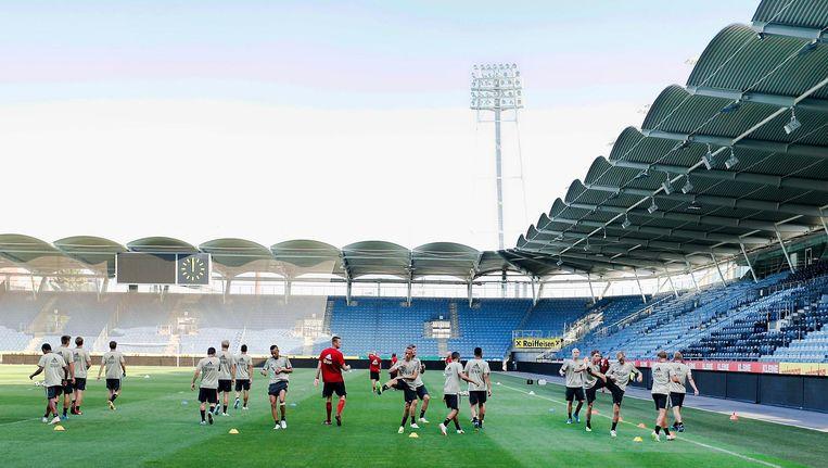 Ajax kan woensdagavond deelname aan de Europa League veiligstellen, voor de groepsfase van de Champions League volgen nog twee ronden Beeld Stanley Gontha/Pro Shots