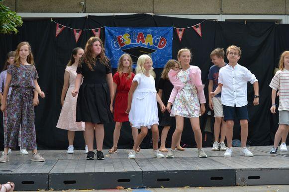 Talentenshow in Leefschool Eureka.