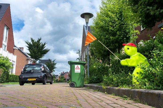 Aurelius in Elst. Volgens veel bewoners een gevaarlijke straat.