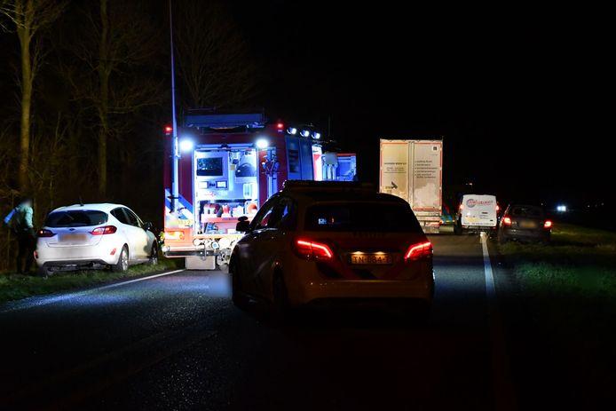 Op dinsdag 17 december 2019 rukten de hulpdiensten met spoed uit naar de Biddingringweg in Biddinghuizen.