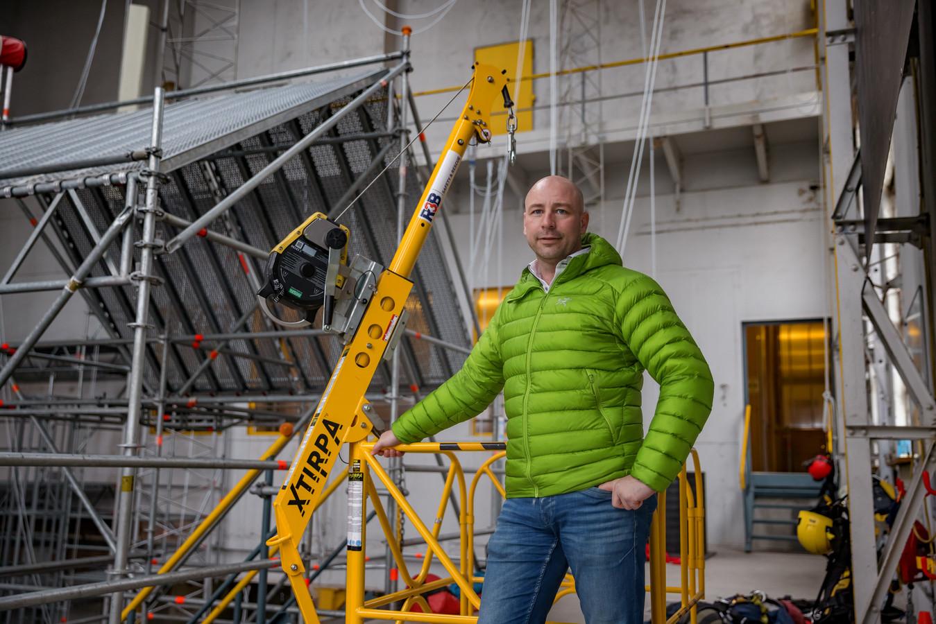 """Rodney Sebregts van R3B Safety en Rescue: ,,We merken dat er bij bedrijven nu meer focus is op veilig werken op hoogte."""""""
