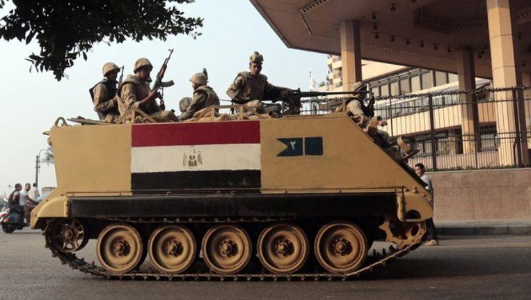 Egyptische tank Beeld epa