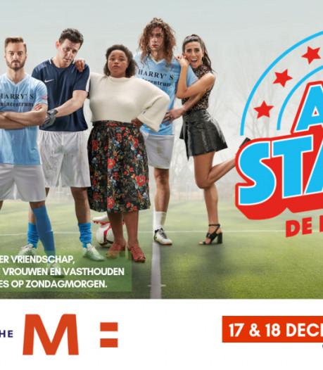 Doelpunten scoren, daarna met korting naar musical All Stars in Steenwijker theater