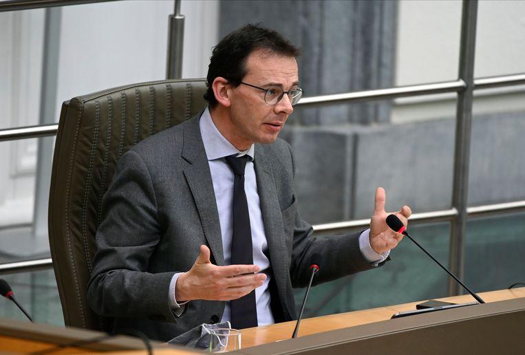 Vlaams minister van Volksgezondheid Wouter Beke (CD&V). Beeld Photo News
