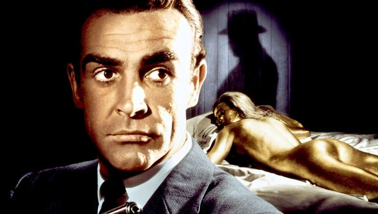 James Bond - Goldfinger. Beeld rv