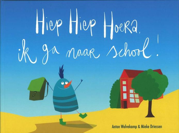 Hiep hiep hoera, ik ga naar school! is het nieuwe prentenboek van Anton Wolvekamp en Mieke Driessen.