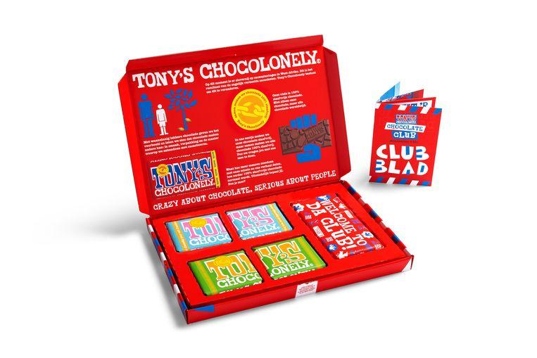 Tony's Chocolonely Chocolate Club. Beeld -