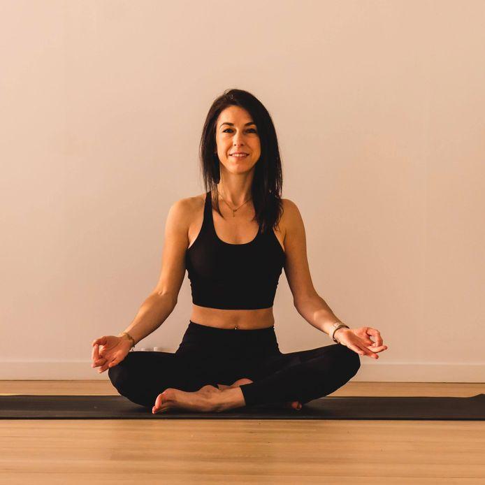 Sandy Cadorin enseigne le yoga dynamique depuis deux ans.