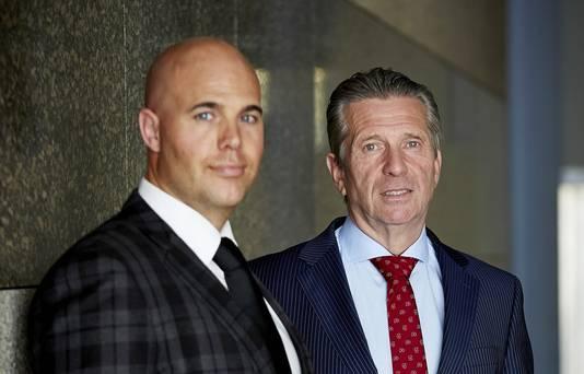 Joram van Klaveren (L) en Louis Bontes van VNL
