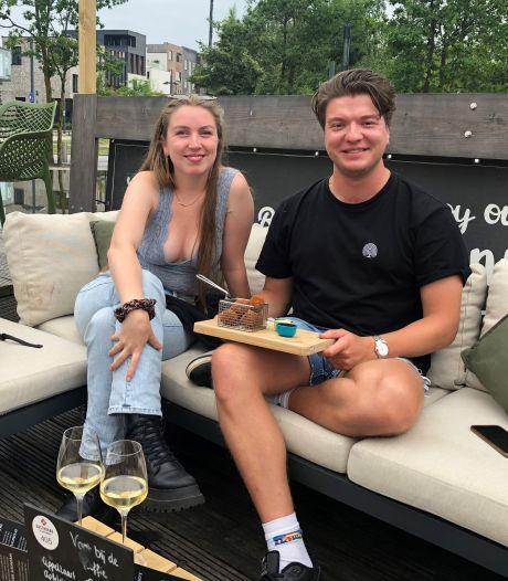 Terrastest in Twente: 'Als het om wijn gaat, maakt de prijs me niets uit'