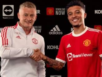 "Jadon Sancho officieel speler van Man United: ""Droom die uitkomt"""