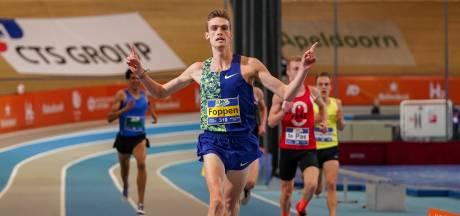 Foppen prolongeert titel op NK indoor met nieuw baanrecord