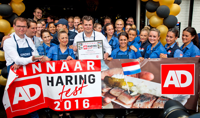 Simonis won de Haringtest in 2016.