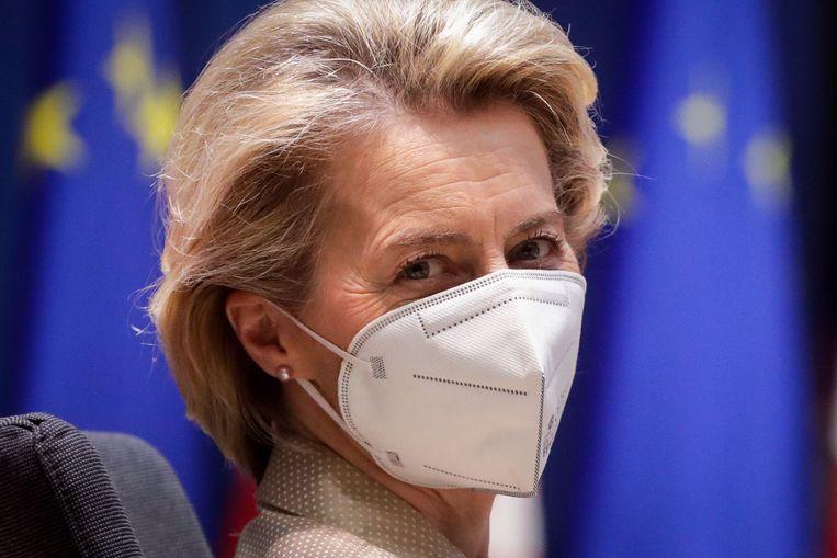 Commissievoorzitter Ursula von der Leyen. Beeld AFP