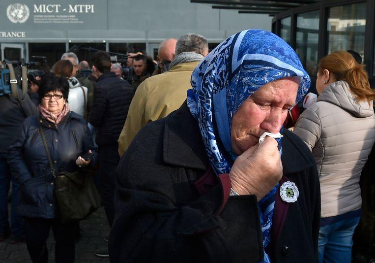 De burgeroorlog in Bosnië-Herzegovina zette vooral de Bosnische Serviërs en Bosniakken tegenover elkaar. Beeld AFP