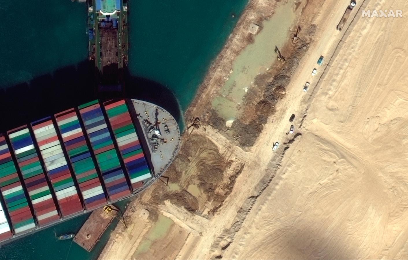 Les porte-conteneurs sont d'immenses navires délicats à manœuvrer, comme l'a prouvé l'incident survenu dans le canal de Suez la semaine dernière.