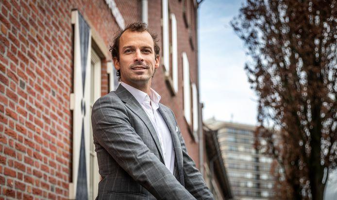 Wethouder Stijn Steenbakkers