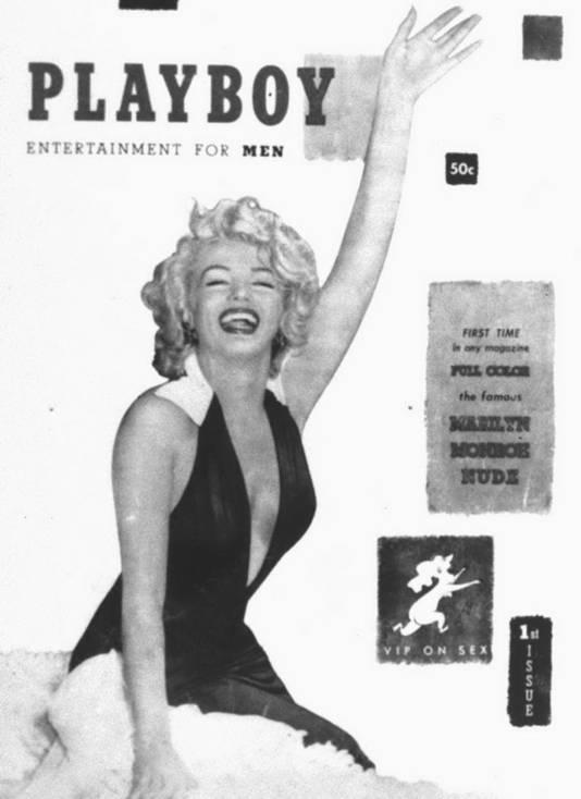 La première couverture de Playboy avec Marilyn Monroe.
